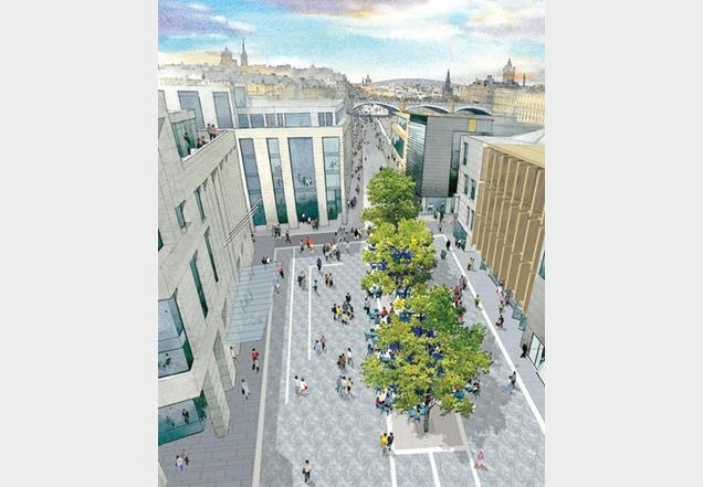 Caltongate development - Allan Murray's masterplan has been questioned by Unesco.